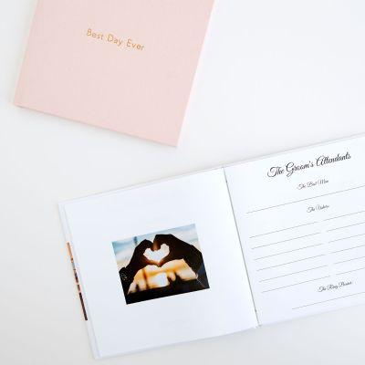 Wedding layflat Guestbook